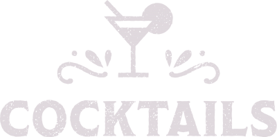 Cocktails Button-Label Artwork